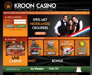 kroon casino homepage
