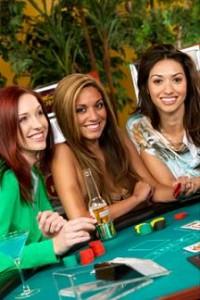 vrouw blackjack