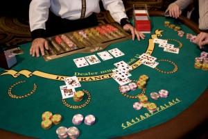 Caesars Casino blackjack