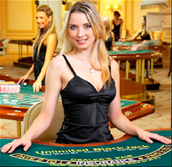 <b>Live</b> blackjack